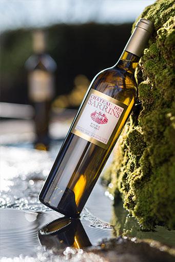 bouteilles de Rosé - Château des Sarrins - AOC Côtes de Provence